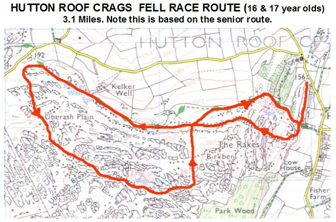 Hutton Roof Fell Race 2017